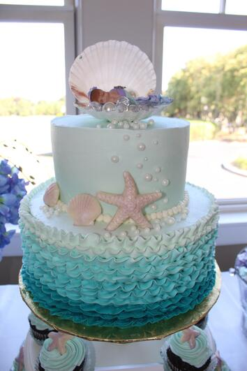 Mermaid Themed Baby Shower